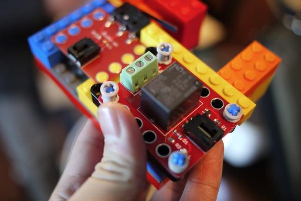 Arduino sensor block for lego 新车间 xinchejian